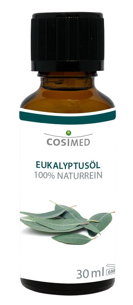 cosiMed ätherisches Öl Eukalyptus 30ml Glasflasche