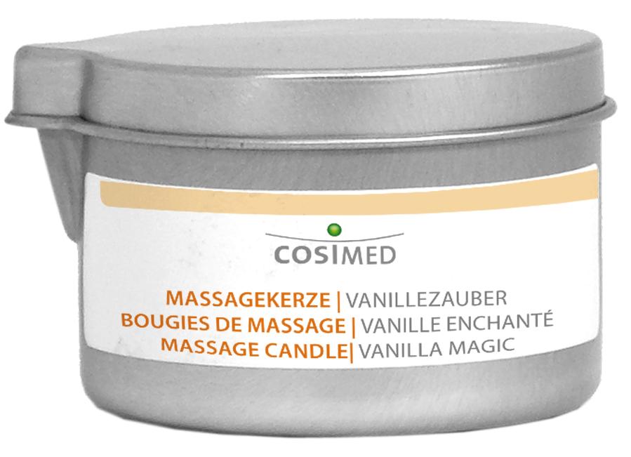 cosiMed Bio Massagekerze Vanillezauber