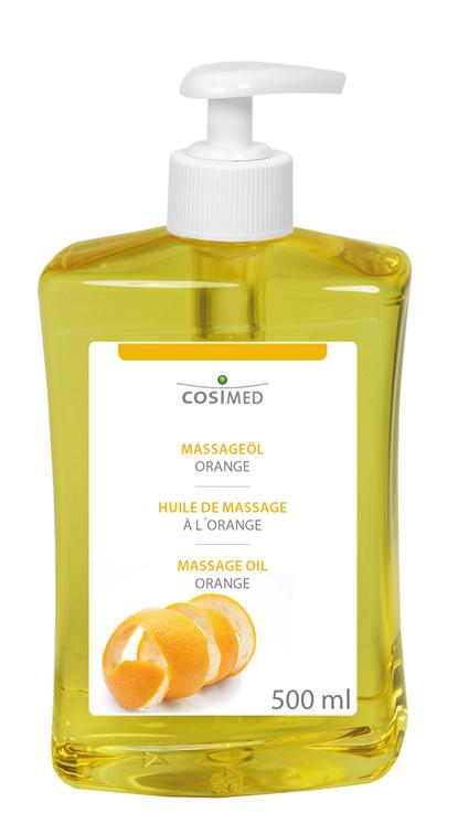 cosiMed Massageöl Orange 500ml Dosierspender