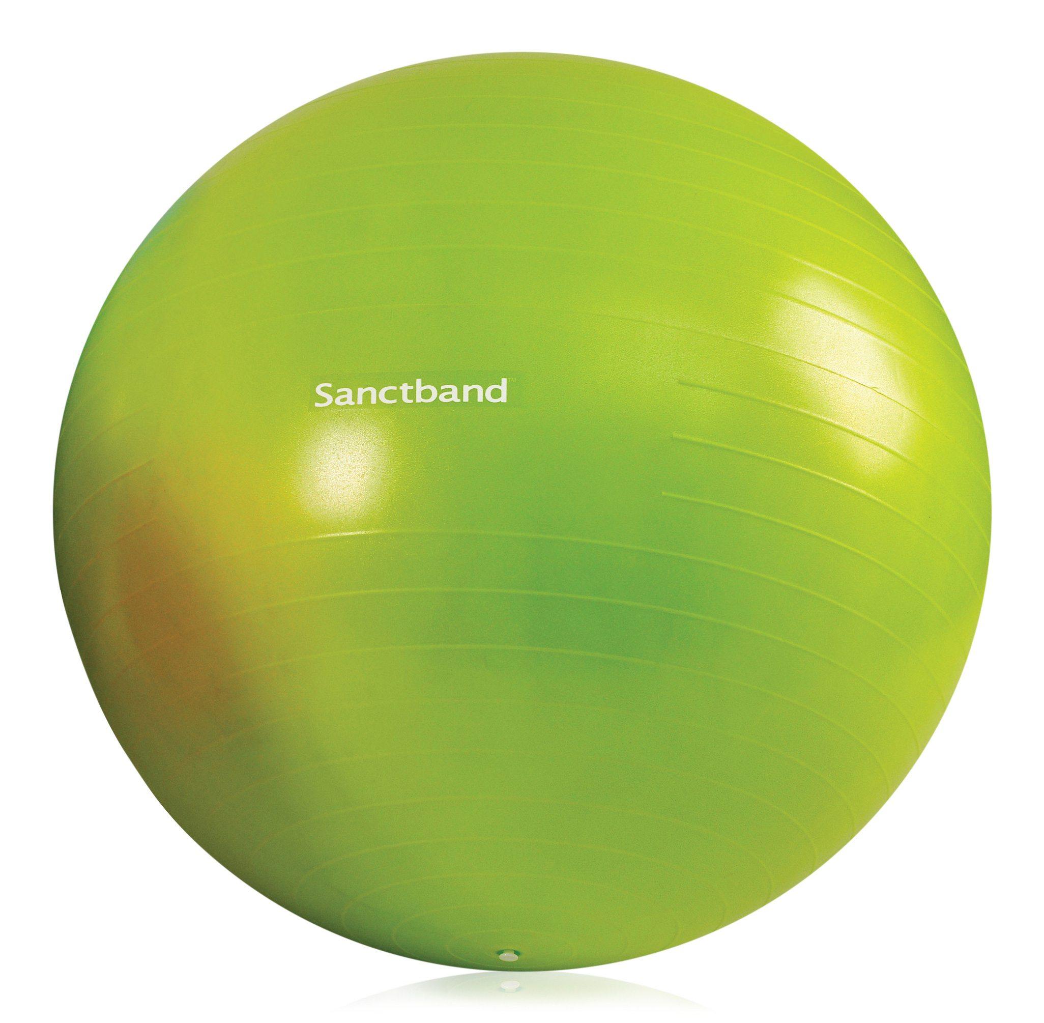 Sanctband Anti Burst Gymnastikball Grün 65cm Durchmesser