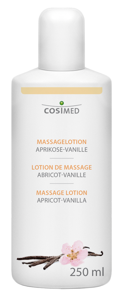 cosiMed Massagelotion Aprikose-Vanille 250ml Flasche
