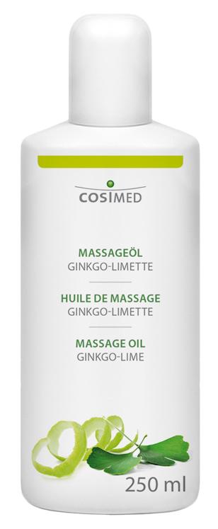 cosiMed Massageöl Ginkgo-Limette 250ml Flasche