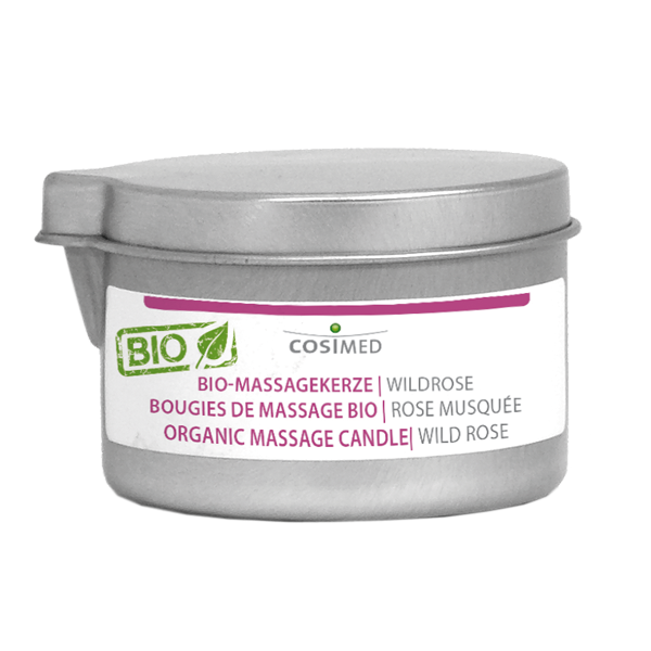 cosiMed BIO-Massagekerze Wildrose