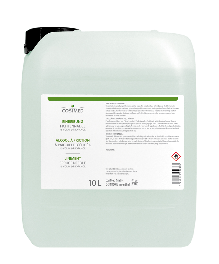 cosiMed Einreibung Fichtennadel 10 Liter Kanister