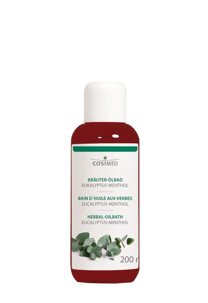 cosiMed Kräuter-Ölbad Eukalyptus-Menthol 200ml Flasche