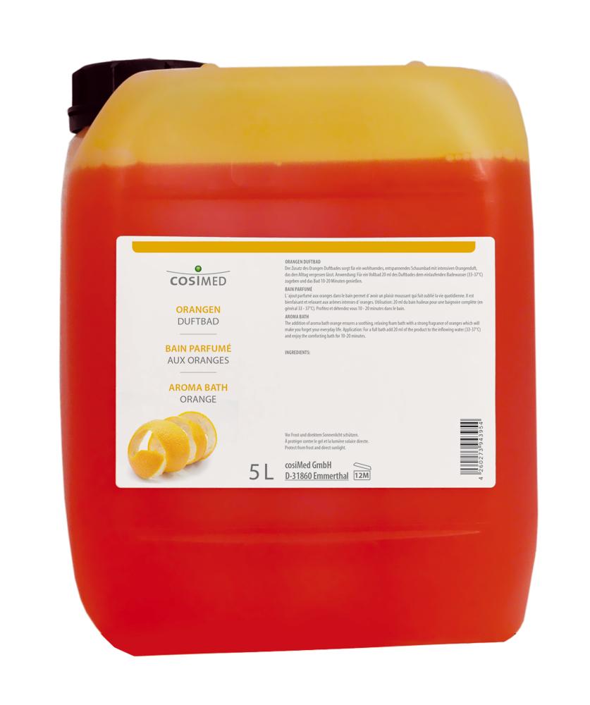 cosiMed Orangen-Duftschaumbad 5 Liter Kanister