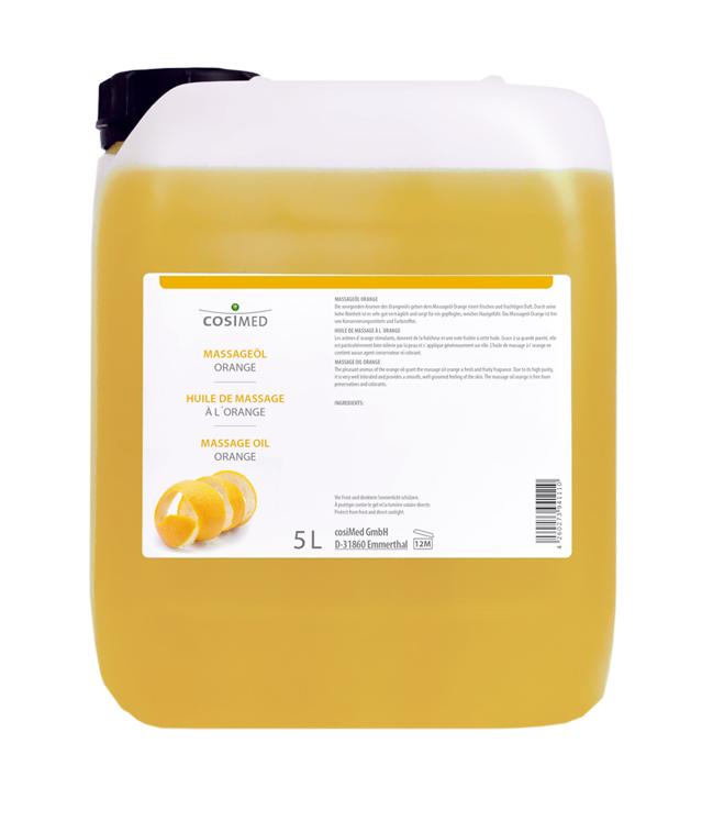 cosiMed Wellness-Massageöl Orange 5 Liter Kanister
