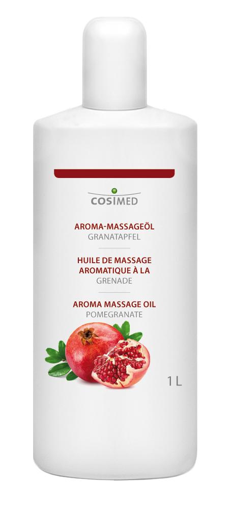 cosiMed Aroma-Massageöl Granatapfel 1 Liter Flasche