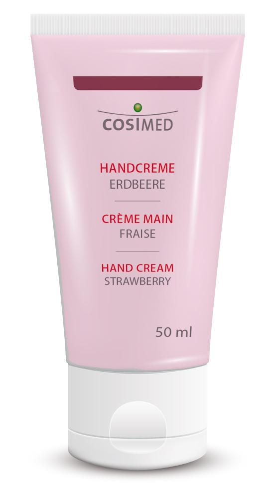 cosiMed Handcreme Erdbeere 50ml Tube
