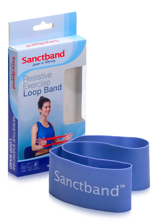 Sanctband Loop Schleifenband Blaubeere Blueberry