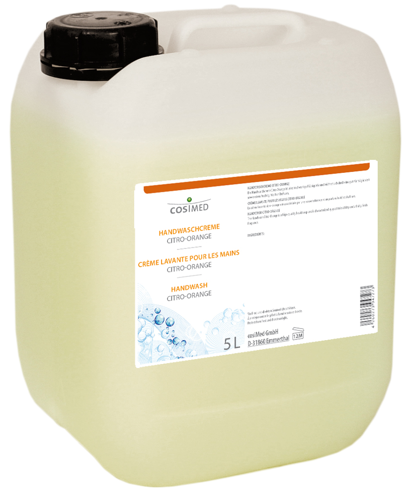 cosiMed Handwaschcreme Citro-Orange 5 Liter Kanister