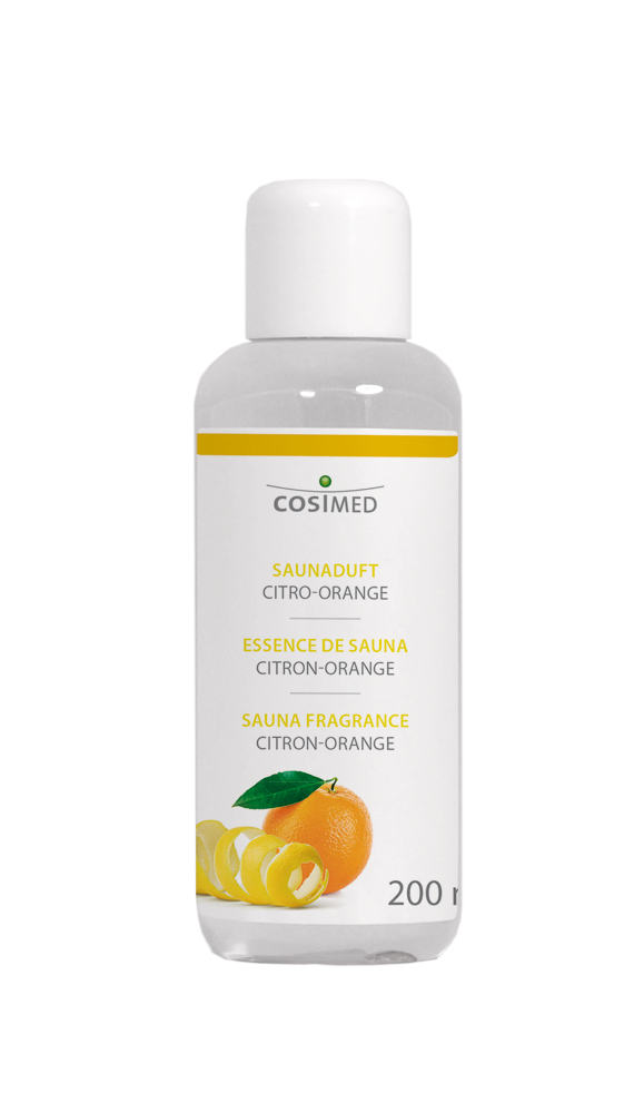 cosiMed Saunaduft Citro-Orange 200ml Flasche