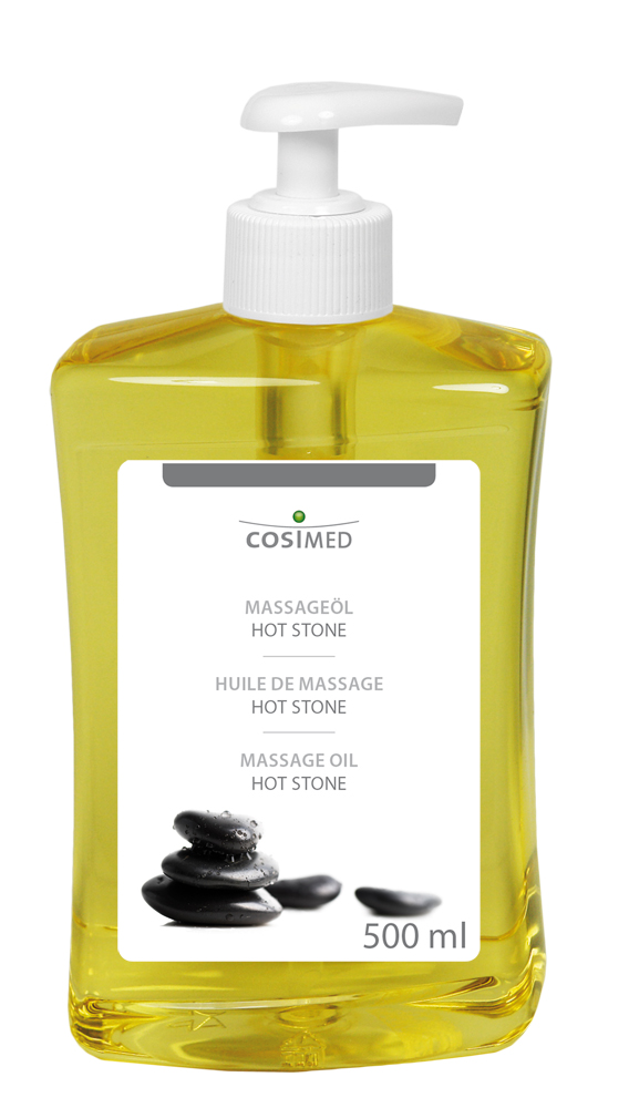 cosiMed Massageöl Hot Stone 500ml Flasche