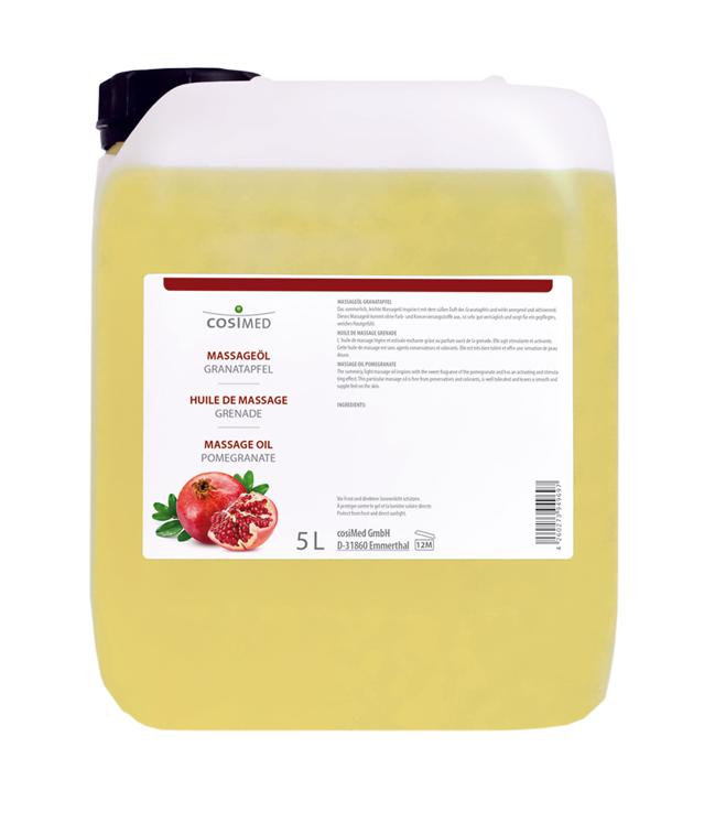 cosiMed Massageöl Granatapfel 5 Liter Kanister
