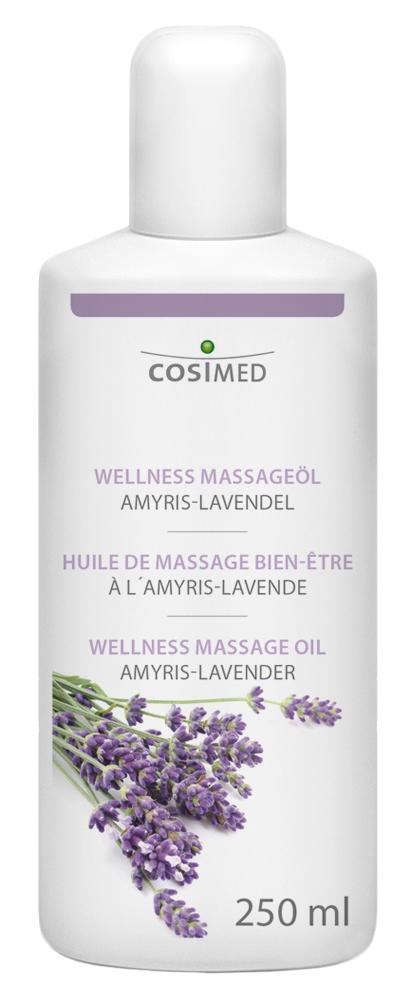 cosiMed Wellness-Massageöl Amyris-Lavendel 250ml Flasche