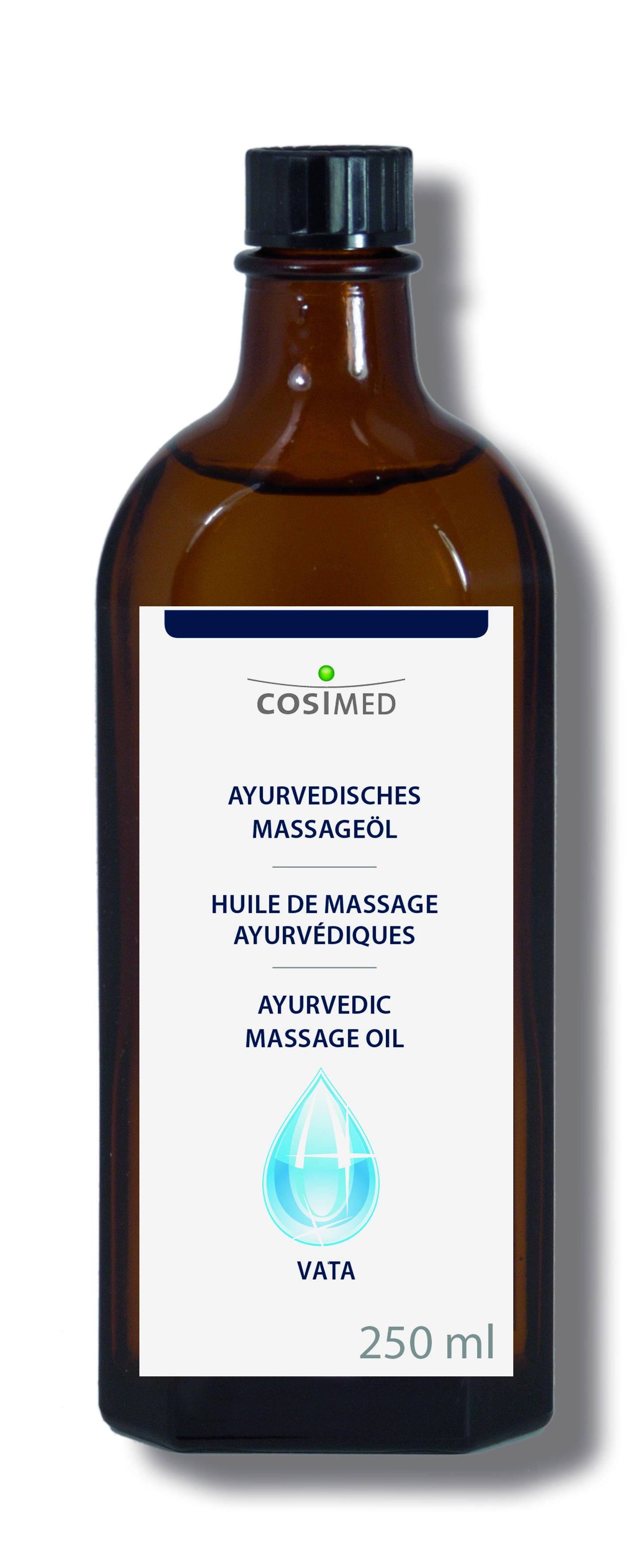 cosiMed Ayurveda Vata Öl 250ml Glasflasche