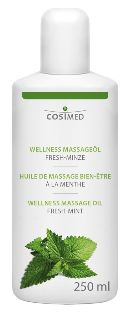 cosiMed Wellness-Massageöl Fresh-Minze 250ml Flasche