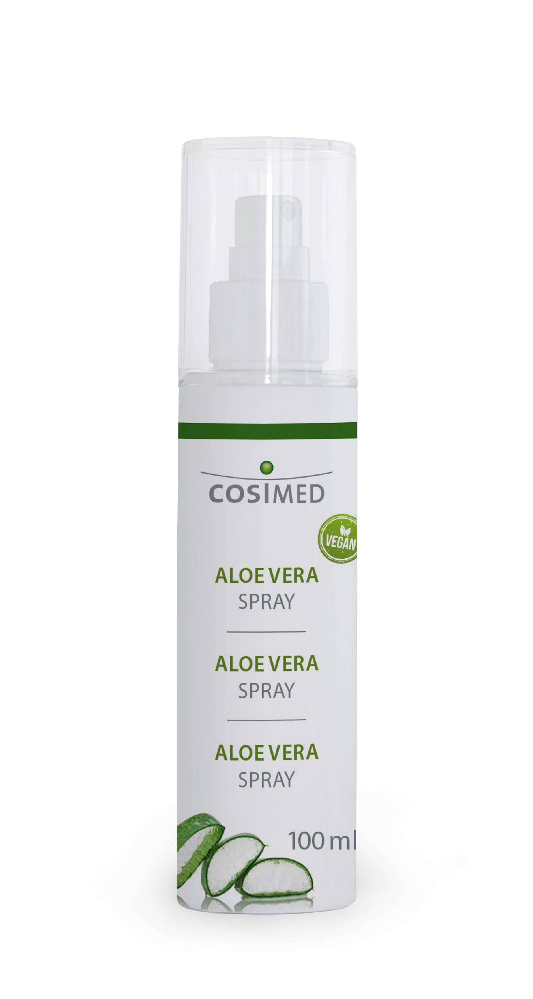 cosiMed Aloe Vera Spray Flasche 100 ml