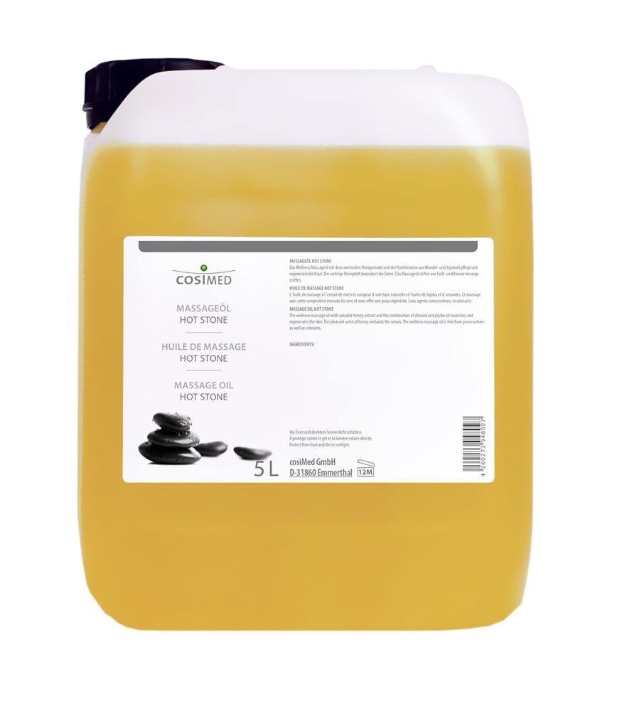 cosiMed Massageöl Hot Stone 5 Liter Kanister