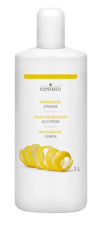 cosiMed Massageöl Zitrone in 1 Liter Flasche