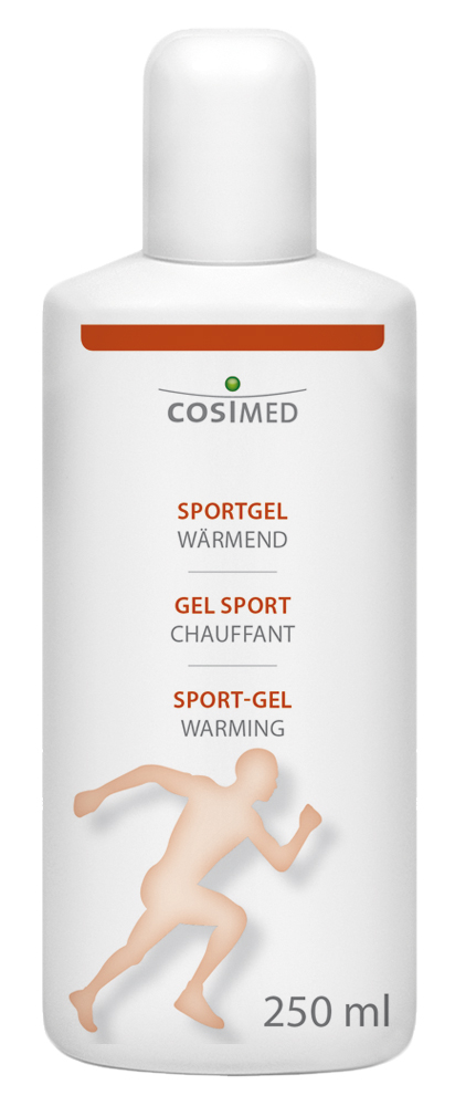 cosiMed Sportgel wärmend 250ml Flasche