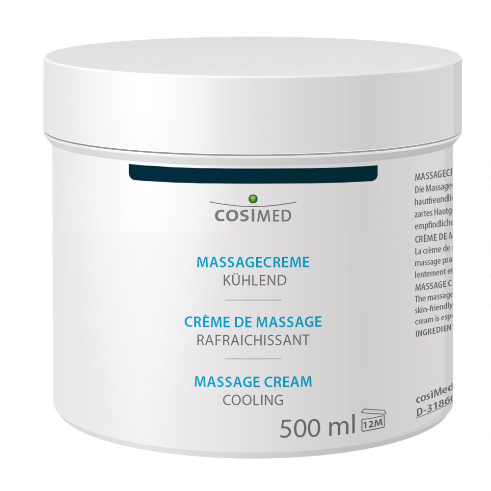 cosiMed Massagecreme kühlend im Tiegel 500ml
