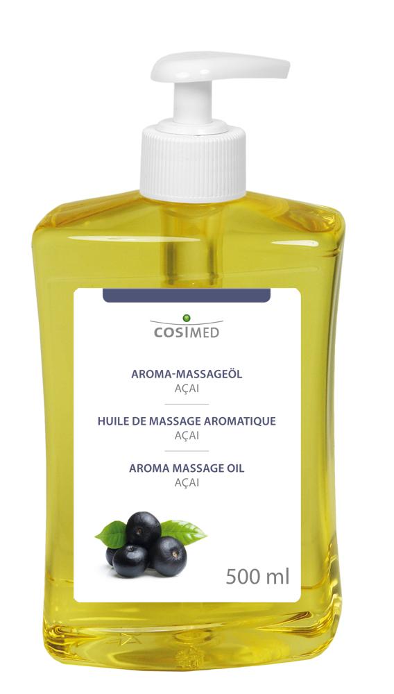 cosiMed Aroma-Massageöl Acai 500ml Dosierflasche