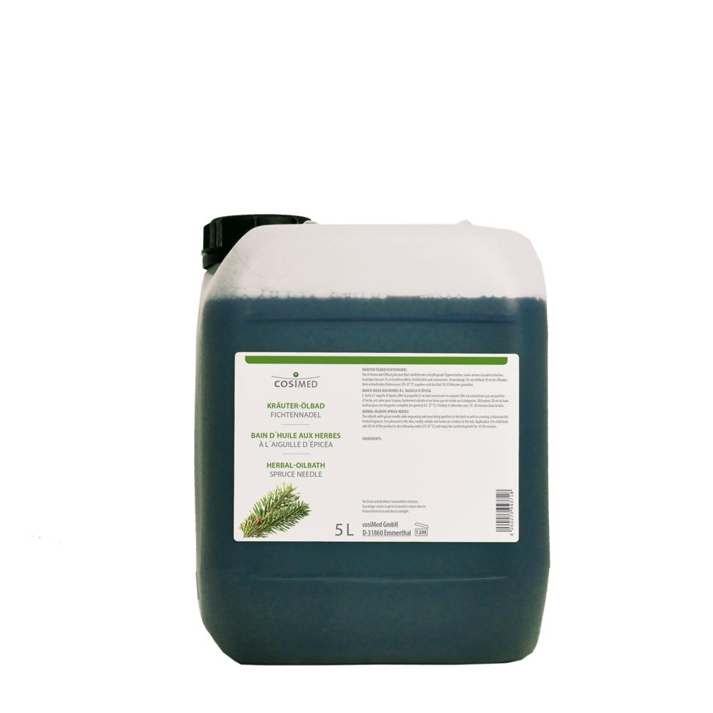 cosiMed Kräuter-Ölbad Fichtennadel 5 Liter Kanister