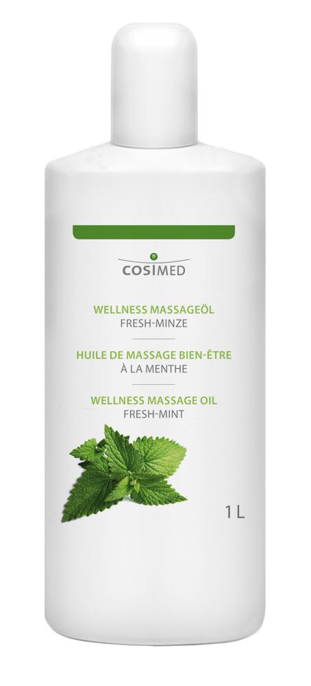 cosiMed Wellness-Massageöl Fresh-Minze 1 Liter Flasche