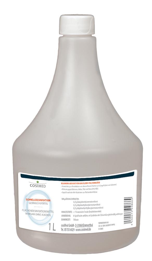 cosiMed Schnelldesinfektion 1 Liter Flasche