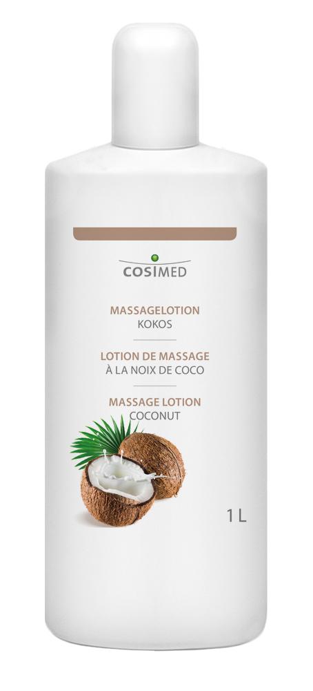 cosiMed Massagelotion Kokos 1 Liter Flasche