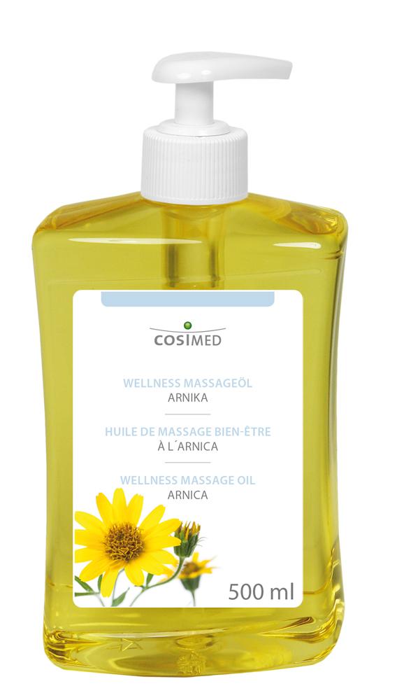 cosiMed Wellness-Massageöl Arnika 500ml Dosierflasche