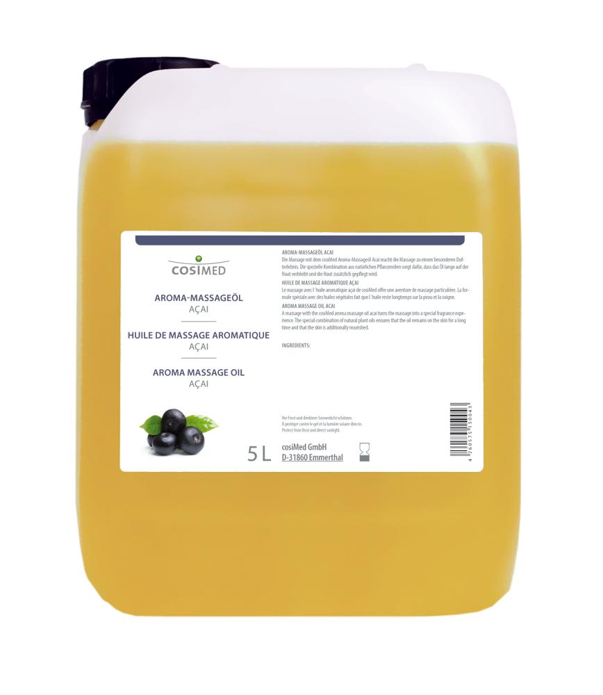cosiMed Aroma-Massageöl Acai 5 Liter Kanister