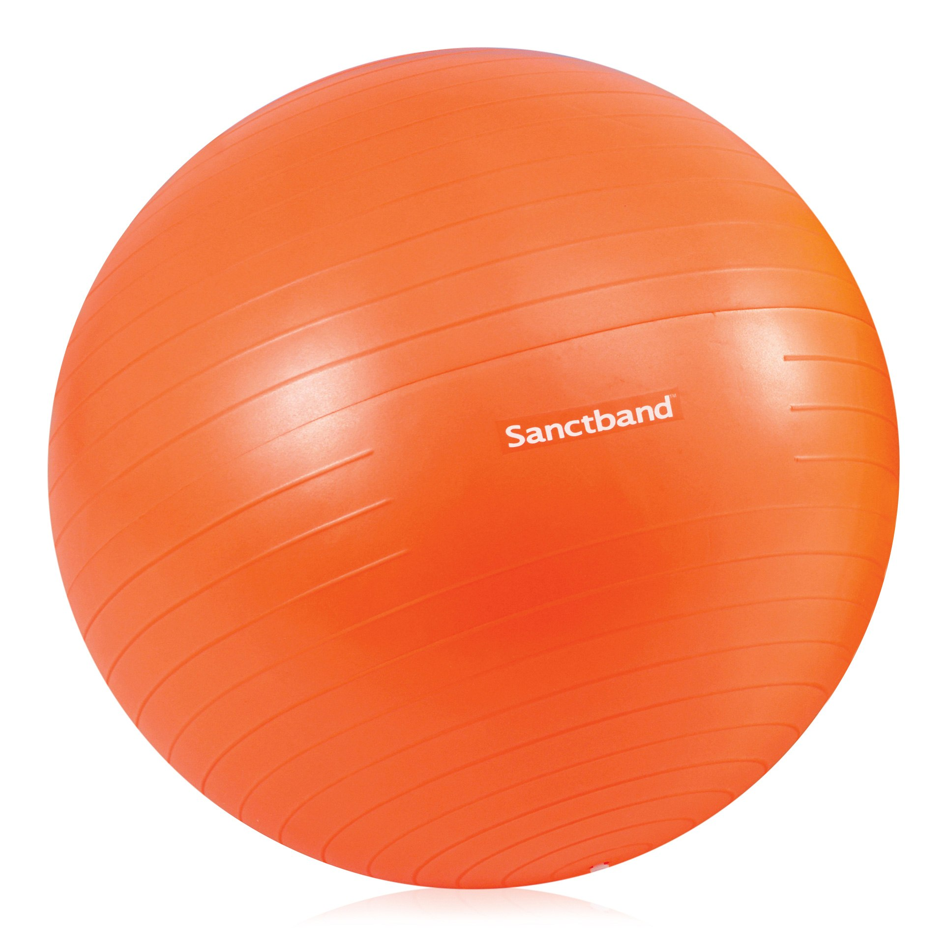 Sanctband Anti Burst Gymnastikball Orange 55cm Durchmesser