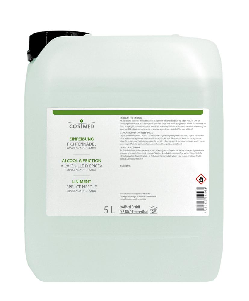 cosiMed Einreibung Fichtennadel 5 Liter Kanister