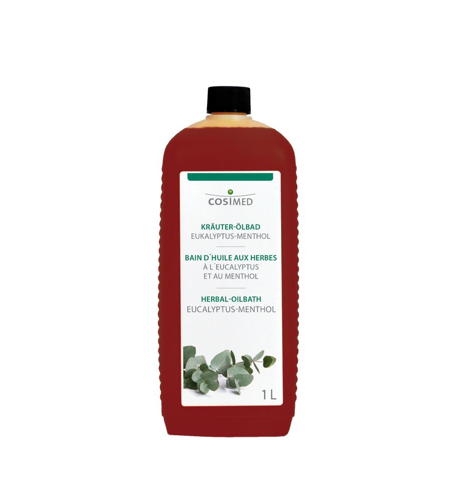 cosiMed Kräuter-Ölbad Eukalyptus-Menthol 1 Liter Flasche