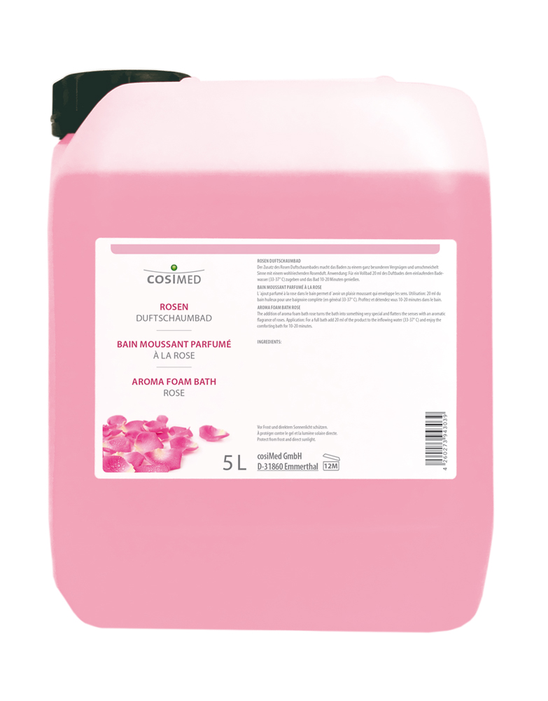 cosiMed Rosen-Duftschaumbad 5 Liter Flasche