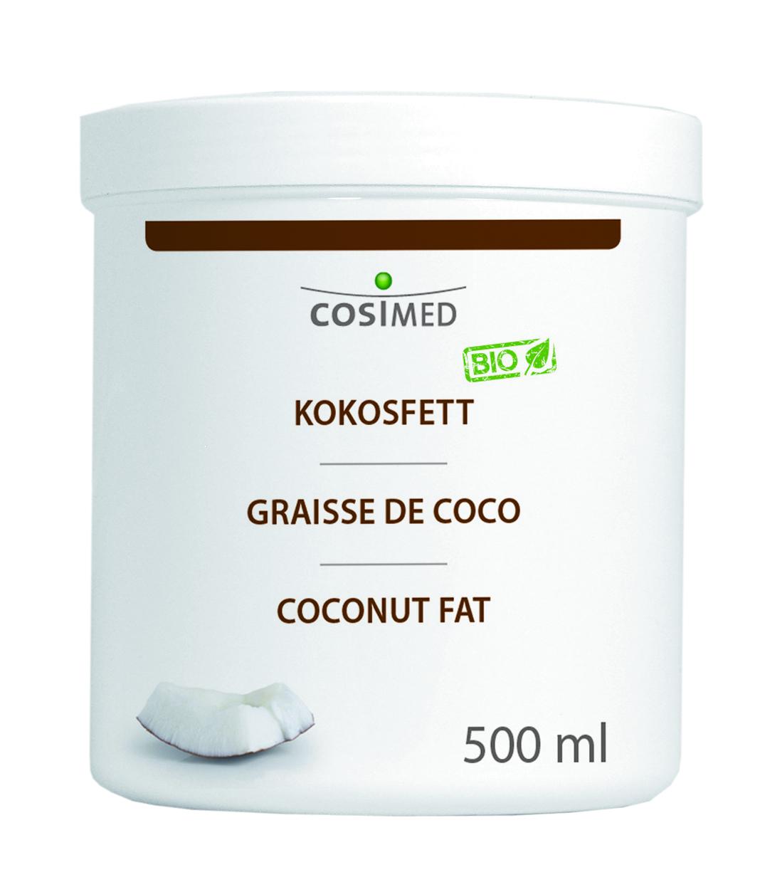 cosiMed Bio Kokosfett 500ml im Tiegel