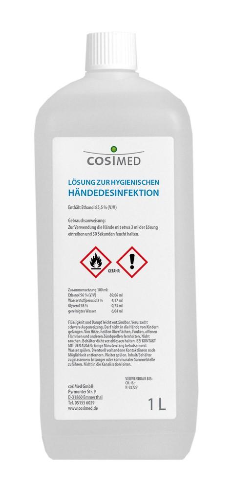 cosiMed Händedesinfektion 1 Liter Flasche