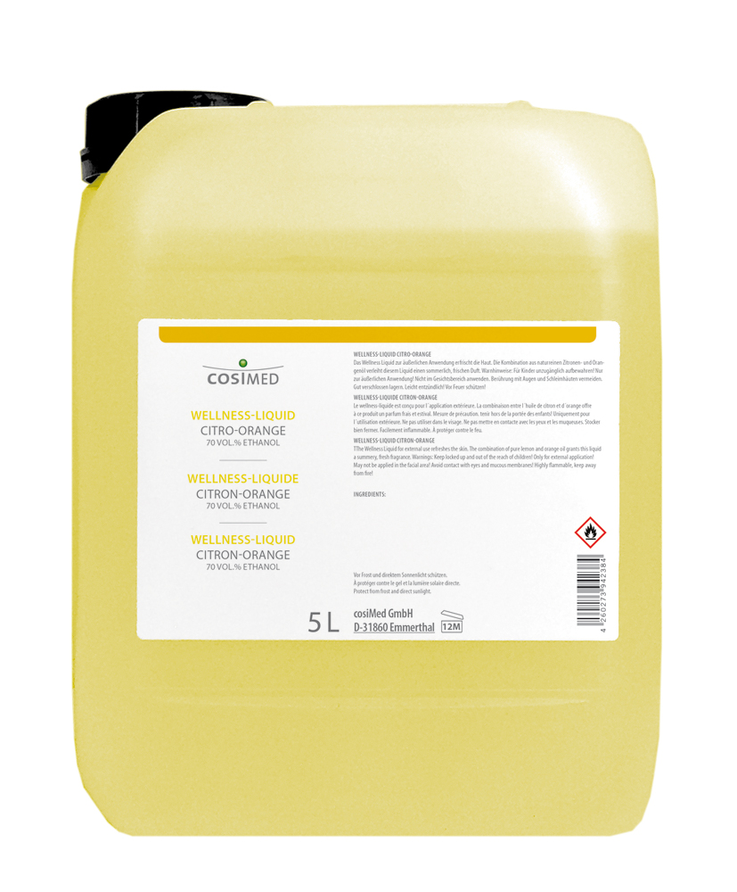 cosiMed Wellness-Liquid Citro-Orange 5 Liter Kanister