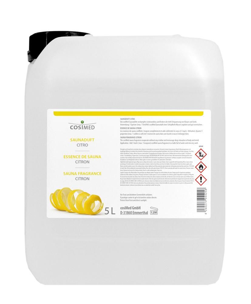 cosiMed Saunaduft Citro 5 Liter Kanister