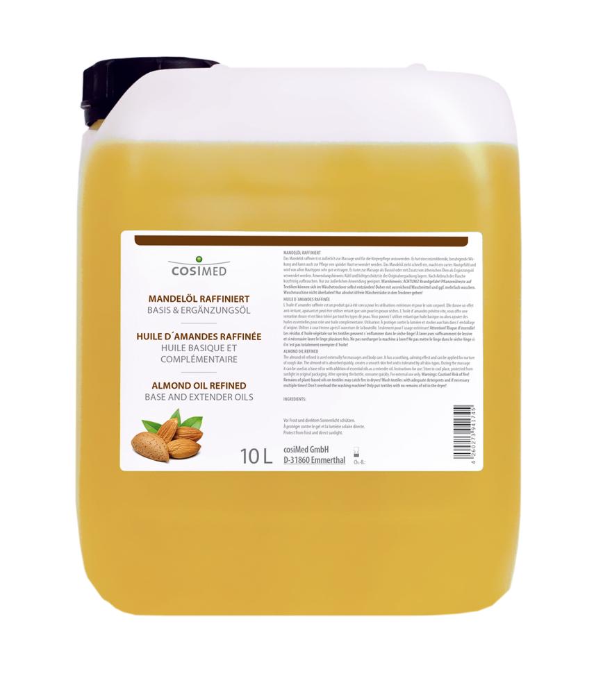 cosiMed Mandelöl raffiniert 10 Liter Kanister