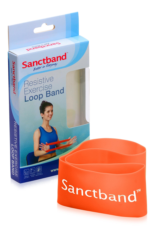 Sanctband Loop Schleifenband Orange
