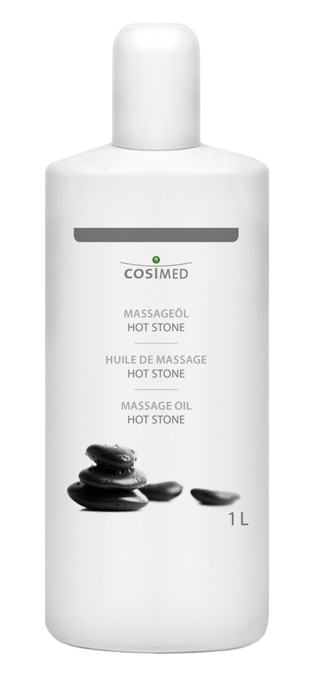 cosiMed Massageöl Hot Stone 1 Liter Flasche