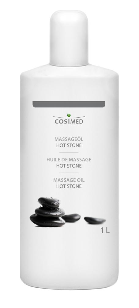 cosiMed Massageöl Hot Stone 1 Liter Flasche