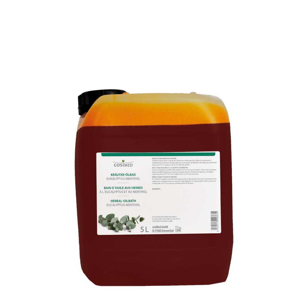 cosiMed Kräuter-Ölbad Eukalyptus-Menthol 5 Liter Kanister