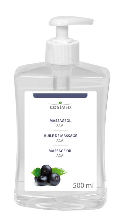 cosiMed Massageöl Acai 500ml Dosierflasche