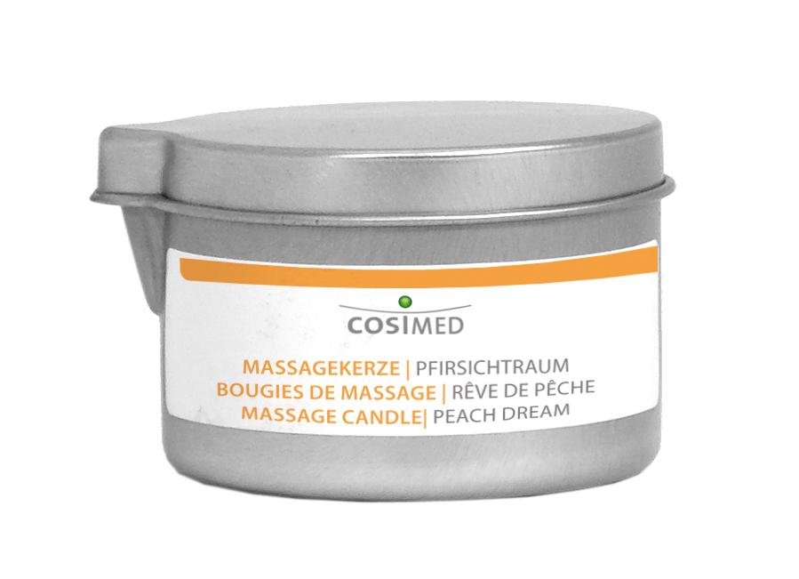 cosiMed Bio Massagekerze Pfirsichtraum