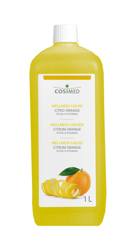 cosiMed Wellness-Liquid Citro-Orange 1 Liter Flasche