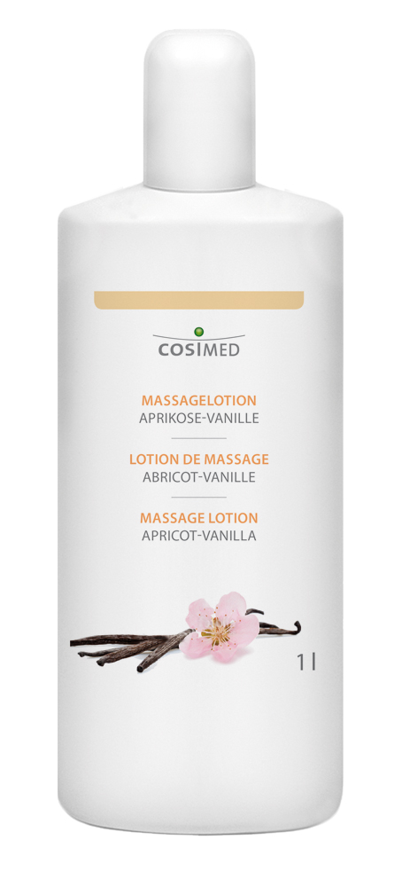 cosiMed Massagelotion Aprikose-Vanille 1 Liter Flasche